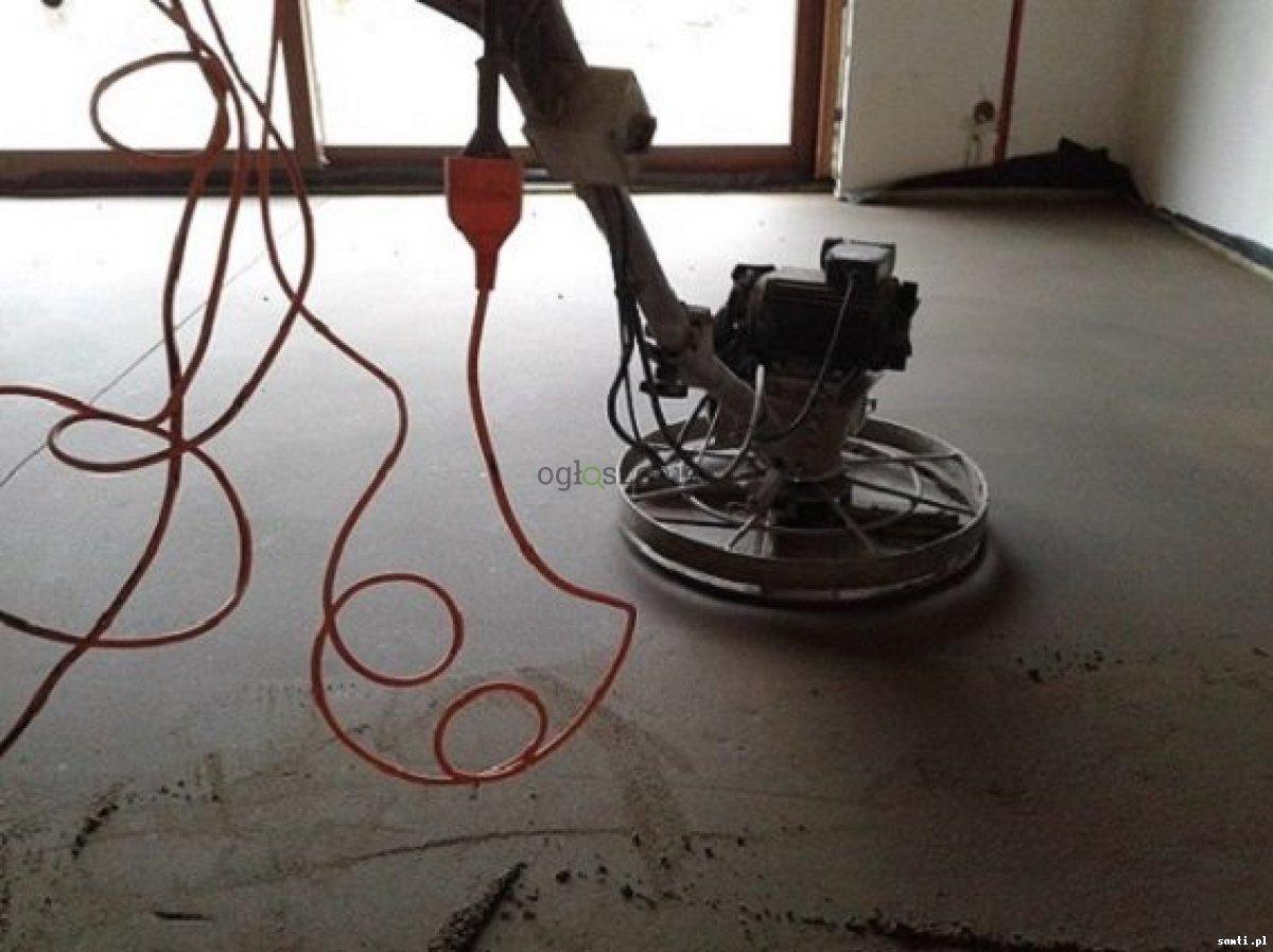 Posadzki maszynowe Wylewki betonowe mixokretem  Rozprza - 1