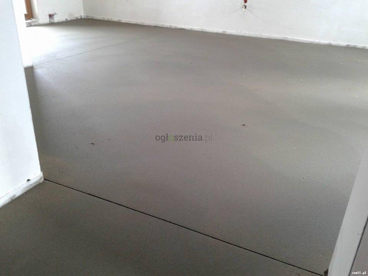 Posadzki maszynowe Wylewki betonowe mixokretem  Gorzkowice - 1