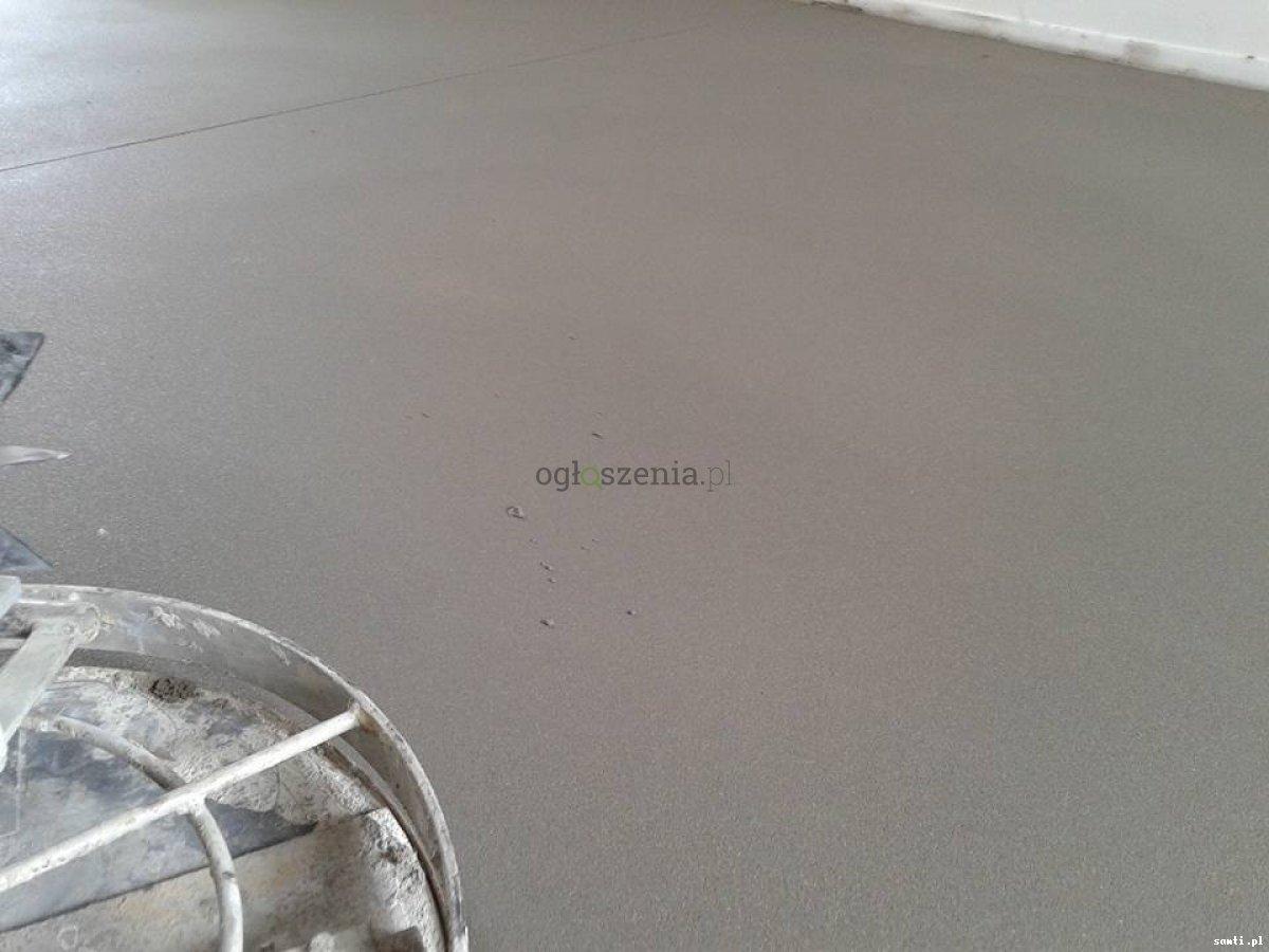 Posadzki maszynowe Wylewki betonowe mixokretem  Gorzkowice - 3