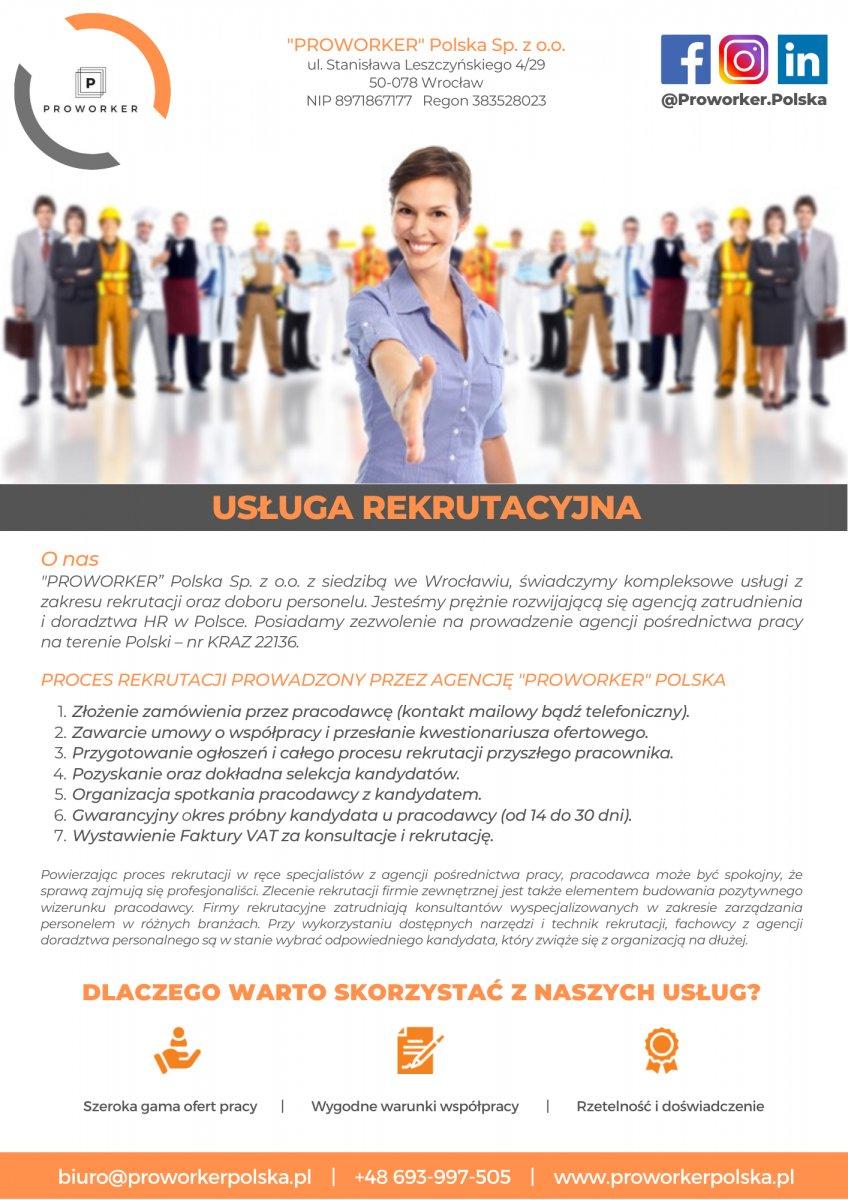 Agencja zatrudnienia i doradztwa HR w Polsce oraz za granicą Wrocław - 1