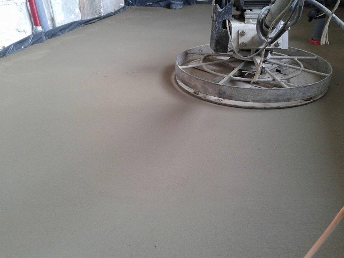 Wylewki betonowe posadzki maszynowe mixokretem Dłutów - 5