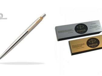 Długopis Parker Jotter oryginalny stalowy + grawerowanie