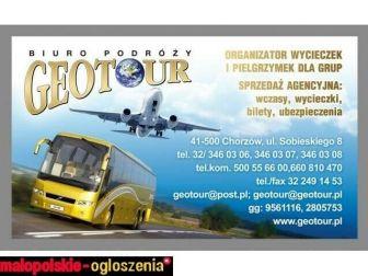 """Biuro Podróży """"Geotour"""" oferuje przejazd na trasie Chorzów-Amsterdam"""