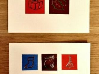 Kartki świąteczne z kopertami Marks & Spencer - 17 sztuk