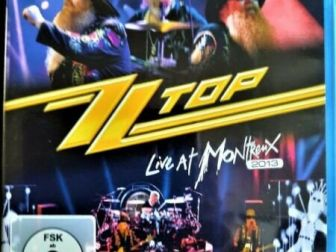 Sprzedam Rewelacyjny Koncert Legenda Rock-a ZZ Top Live At Montreux
