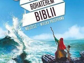 """nowa! książka-gra """"ZOSTAŃ BOHATEREM BIBLII. MOJŻESZ-WIELKA PRZEPRAWA"""""""