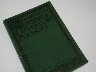 """J. Krzyżanowski """"HISTORIA LITERATURY POLSKIEJ"""""""