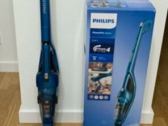 Odkurzacz bezprzewodowy Philips PowerPro Aqua 3w1