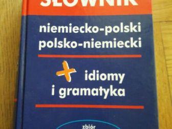 Harald G – Słownik niemiecko-polski oraz polsko-niemiecki wraz z idiomami i gramatyką