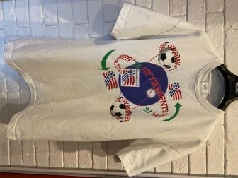 Biała męska koszulka VETEMENTS