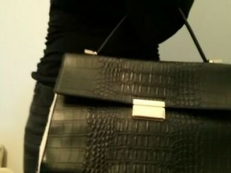 czarny kuferek Parfois