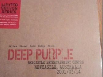Deep Purple -Live Newcastle 2001 (Limited Edition) 2CD ,folia