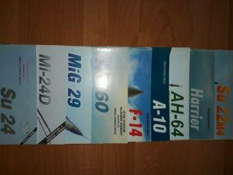 Przegląd konstrukcji lotniczych m.in. Su-22M4, MiG-29 i Mi-24D