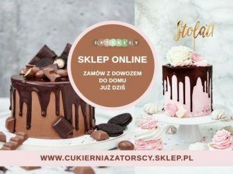 Torty, ciasta, ciasteczka Naturalne z dostawą do domu Cukiernia Kraków Zatorscy