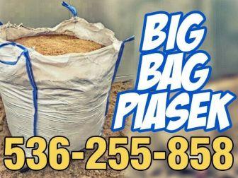 Piasek BIG BAG. Ziemia BIG BAG