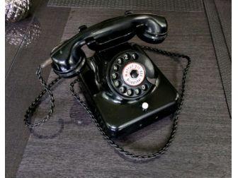 Telefon analogowy  RFT W38 antyk retro klasyk kolekcjonerski gadżet