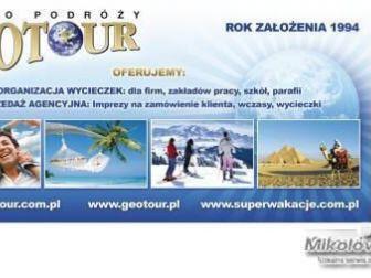 Wycieczki dla grup oferuje Geotour