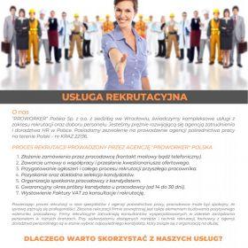 Agencja zatrudnienia i doradztwa HR w Polsce oraz za granicą